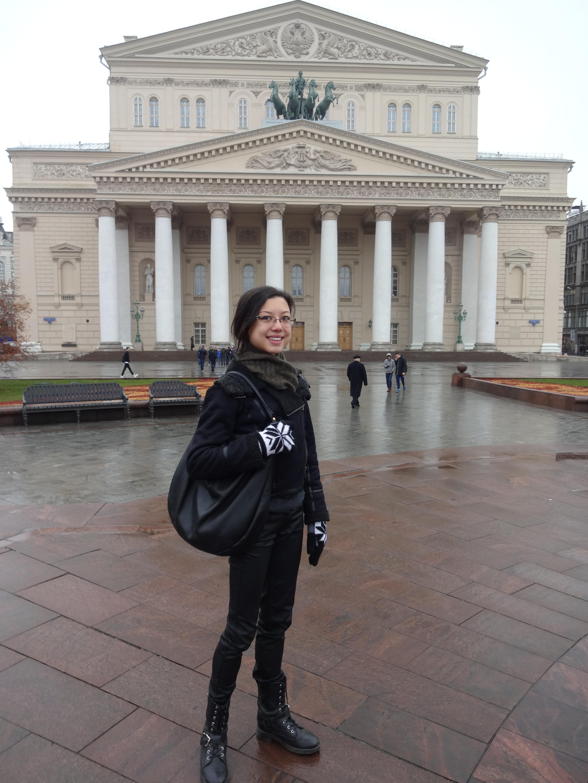 Tala Lee-Turton Bolshoi Ballet Theatre